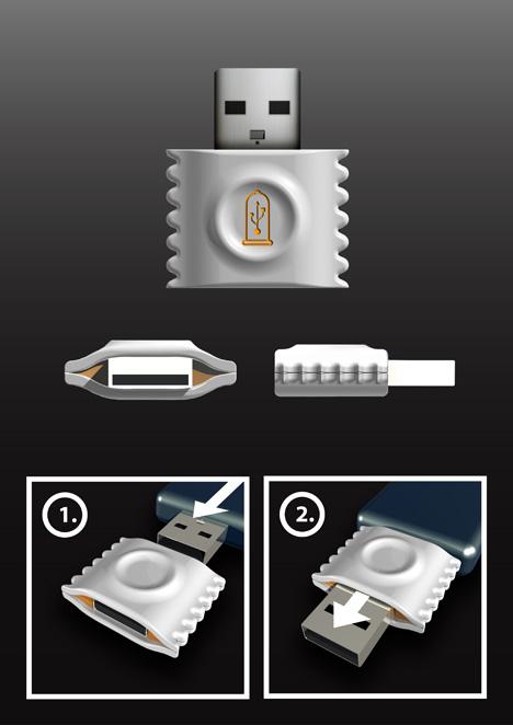 Préservatif USB