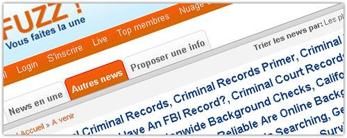 Fuzz : Victime de spam