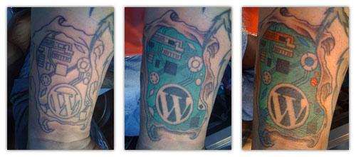 Tatouage WordPress