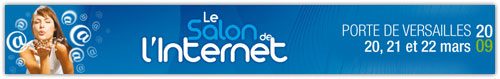 Logo du Salon de l'Internet 2009