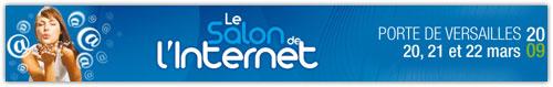 Logo du Salon de l'Internet 2009