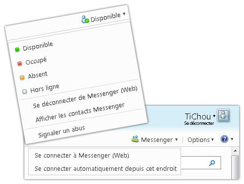 Hotmail : Messenger