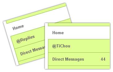Twitter : Réponses - TiChou
