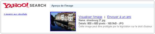 Yahoo Image : Détails - ancien