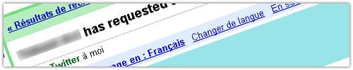 Gmail : Traduction automatique des messages