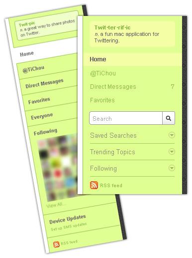 Twitter : Recherche et tendances