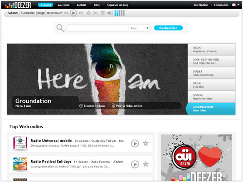 Deezer : Version 3
