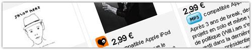 Fnac Musique : 300 albums en MP3