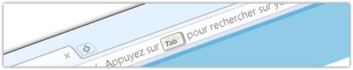 Google Chrome : Omnibox - rechercher (étape 1)