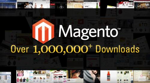 Magento : Un million de téléchargements
