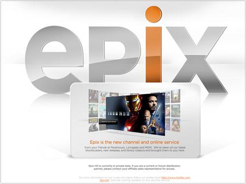 Epix : Vidéo à la demande (VOD)
