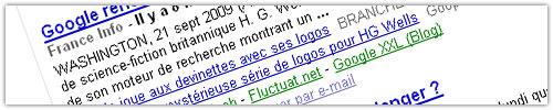 Google Actualités (News) : Blog