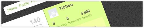 Twitter : Following/Followers