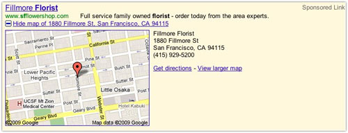 Google Ad : Location