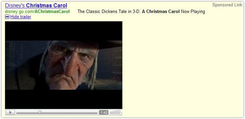 Google Ad : Visual element