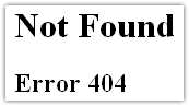 Google Dashboard : Not Found (error 404)