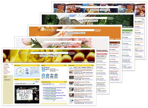 iGoogle : Thémes gourmet