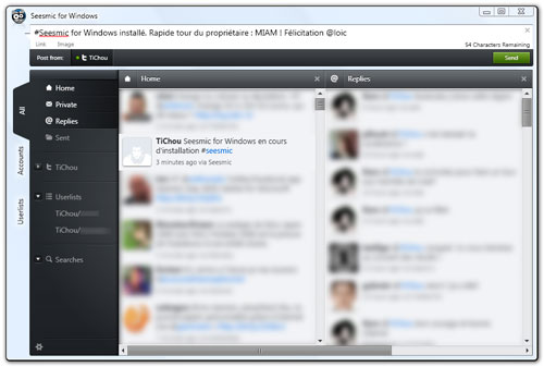 Seesmic Desktop for Windows