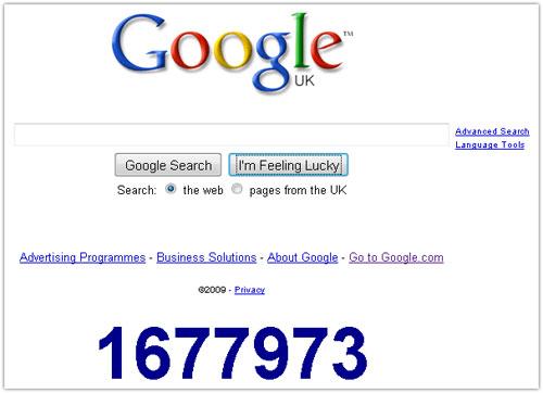 Google : Compte à rebours (2010)