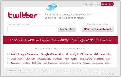Twitter : World AIDS day