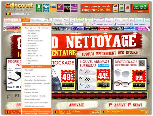 CDISCOUNT 6.1 : Nouveau design pour la boutique en ligne (refonte ...