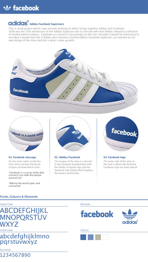 Adidas Facebook Superstars