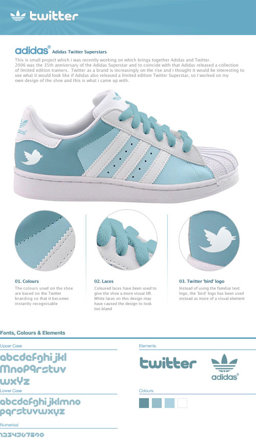Adidas Twitter Superstars