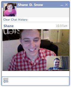 Facebook : Chat vidéo