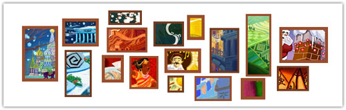 Doodle Google : Noël