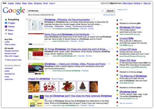 Google : Noël