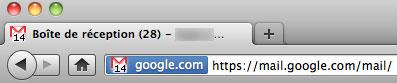 Gmail : Compteur des messages non lus en favicon