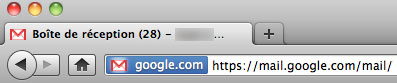 Gmail : Favicon