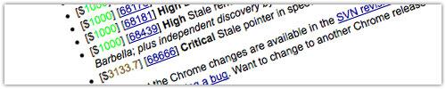 Google Chrome : Récompense Elite