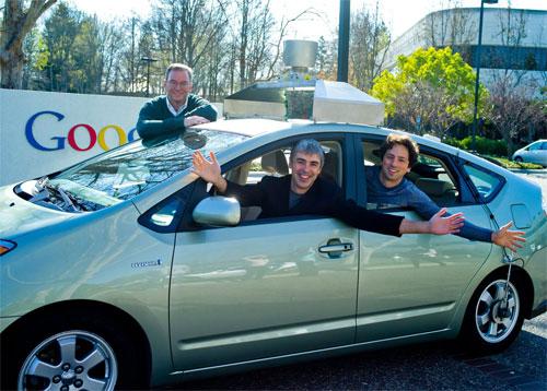 Google : Schmidt, Page & Brin
