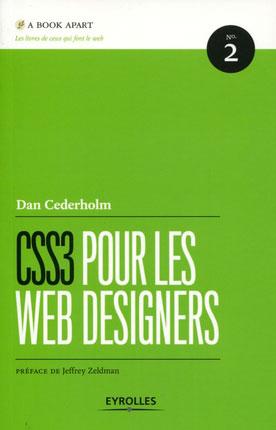 Eyrolles : CSS3 pour les web designers