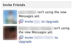 Facebook Messages : Amis