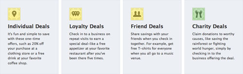 Facebook Places Deals : Bons plans