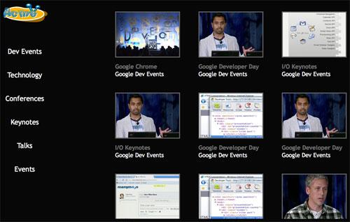 Google TV Templates
