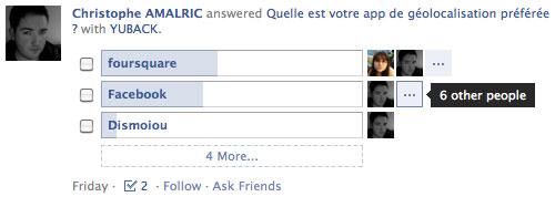 Facebook : Questions & réponses