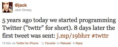 5 ans de Twitter