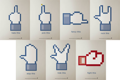 Facebook : Parodies du bouton J'aime (Like)