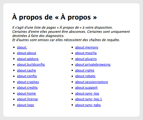 Firefox 4 : A propos