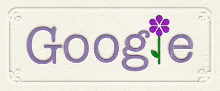 Google : Doodle pour la fête des mères