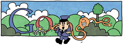 Google : Doodle Hargreaves 16