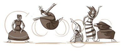 Google : Doodle Martha Graham