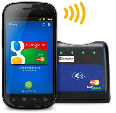 Google Wallet : MasterCard PayPass