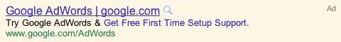 Google AdWords : Embedded Sitelinks