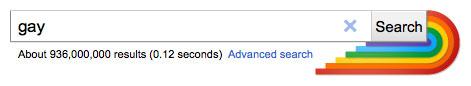 Google : Gay - Arc-en-ciel