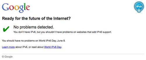Google : IPv6 day