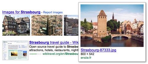 Google : Focus sur les images dans les SERPS